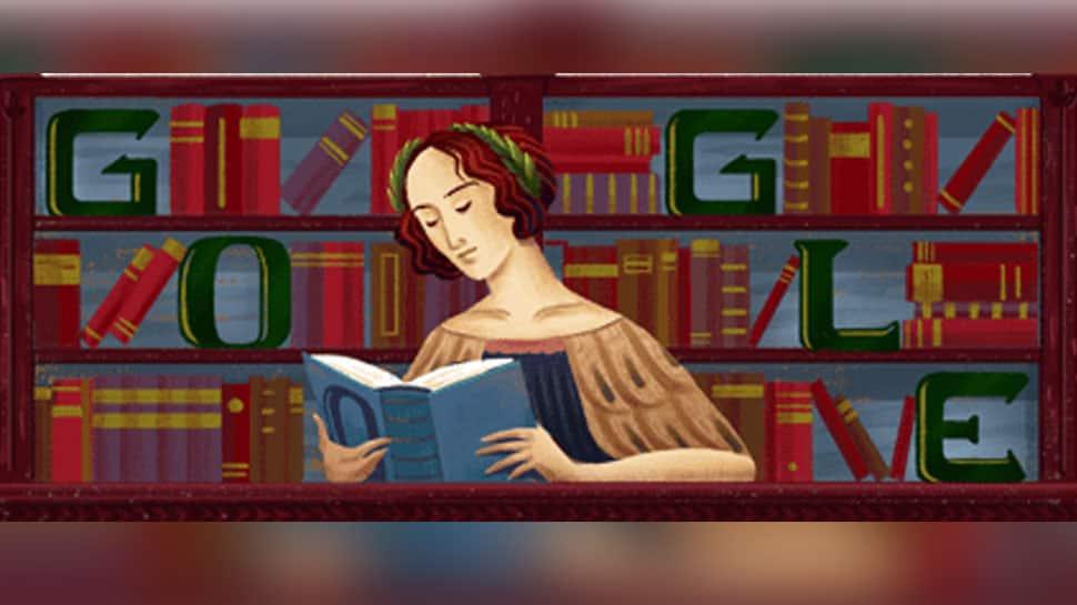 Google doodle celebrates 373rd birthday of Elena Lucrezia Cornaro Piscopia