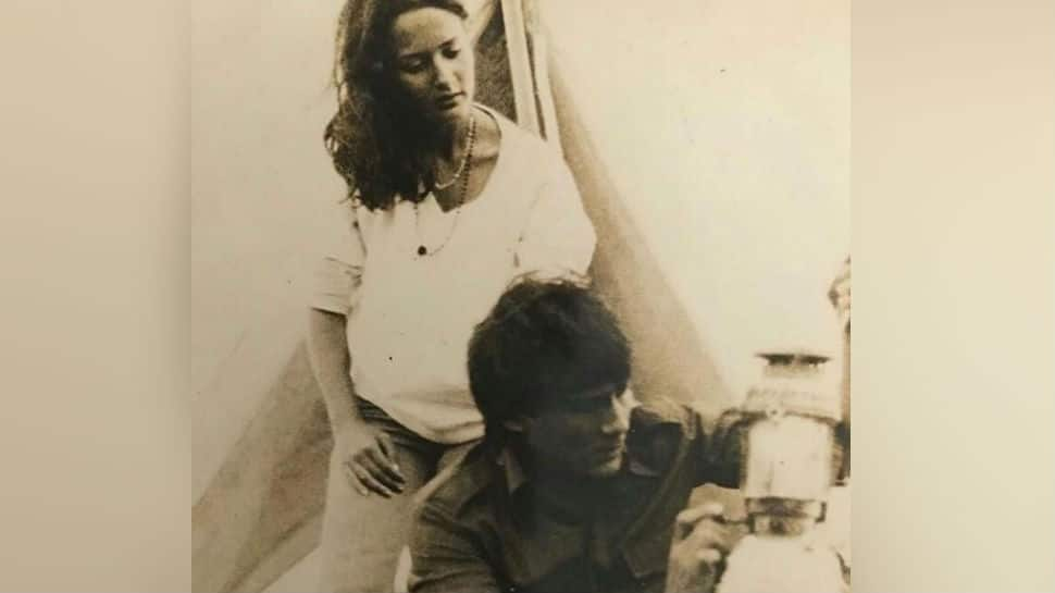 Bet you didn't recognise Jackie Shroff in this blast from the past pic with wife Ayesha