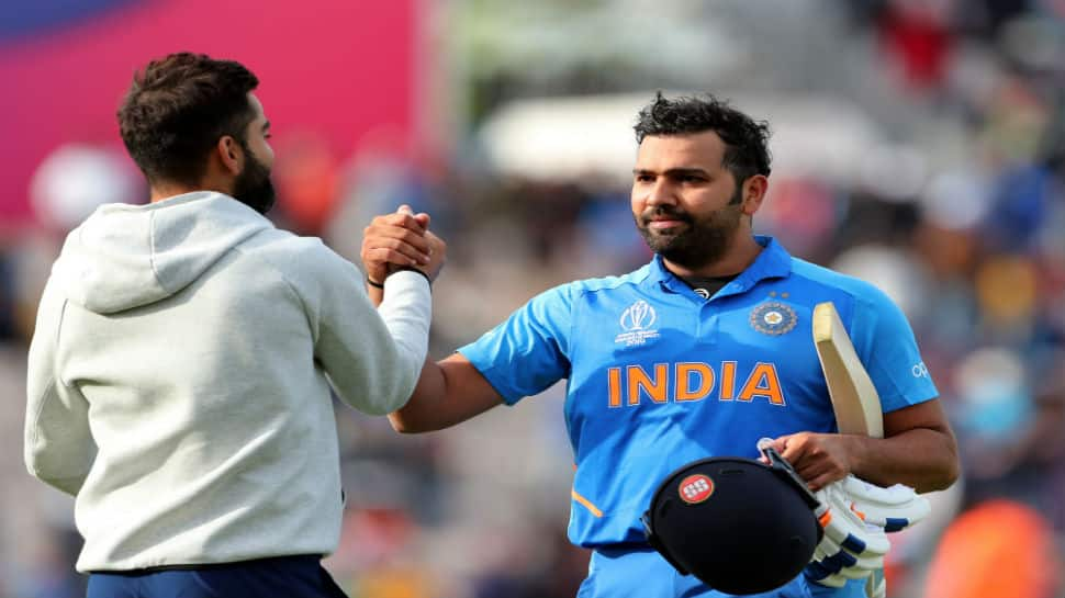 ICC Cricket World Cup 2019: Virat Kohli in awe of Rohit Sharma's ton vs SA, calls it his best ever