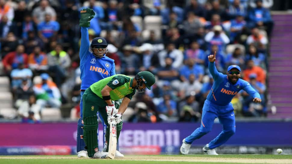 ICC Cricket World Cup 2019: MS Dhoni sports 'Balidaan Badge' on gloves during clash vs South Africa