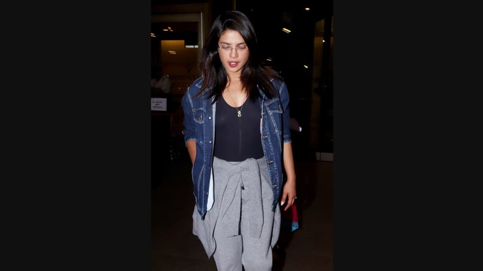 Priyanka Chopra arrives back in Mumbai, aces comfy airport look — Check out her photos