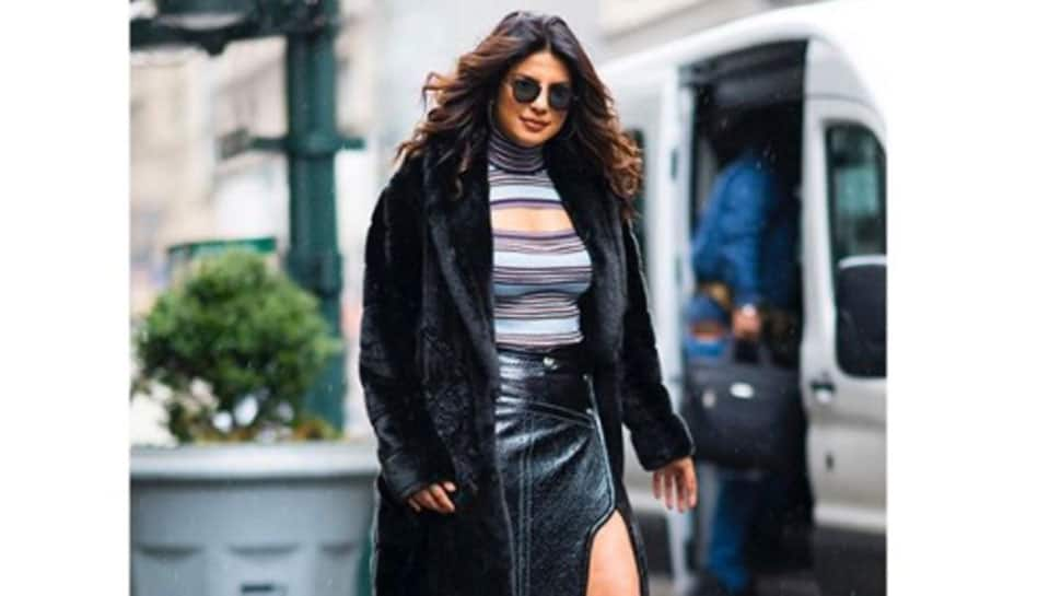 Priyanka Chopra rocks the shimmering saree, gives full desi girl vibes in this BTS dance video—Watch