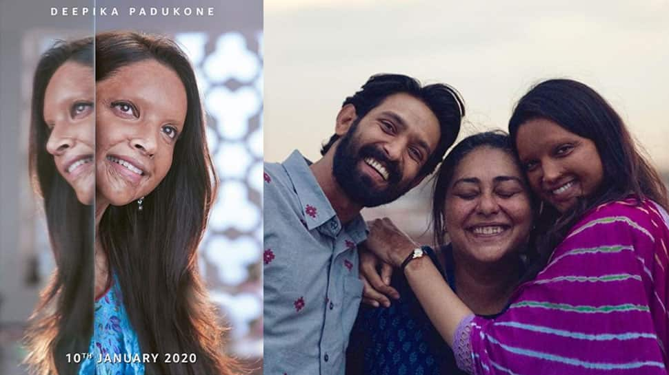 'Chhapaak' director Meghna Gulzar shares pics with Deepika Padukone, Vikrant Massey and calls it a wrap!