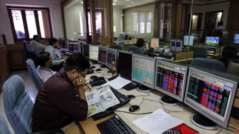 Markets edge lower, Sensex down over 120 points