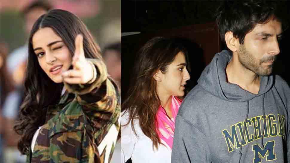 Ananya Pandey shuts down rumours of love triangle between her, Kartik Aaryan and Sara Ali Khan