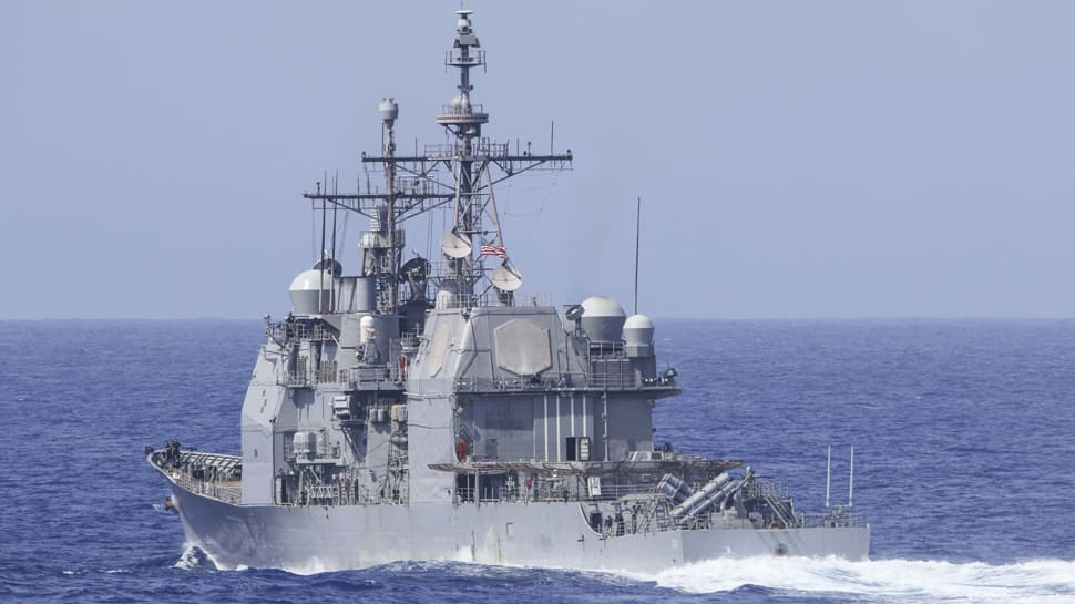 US cruiser almost collides with Russian warship 3 days after Su-35C intercepts P-8A Poseidon