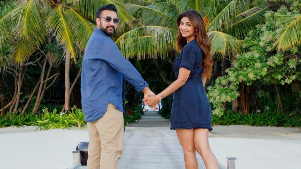 You are a blessing: To Shilpa Shetty, with love from husband Raj Kundra on her birthday