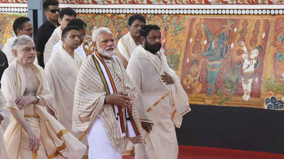 Kerala as dear to me as Varanasi, says PM Narendra Modi in Guruvayur