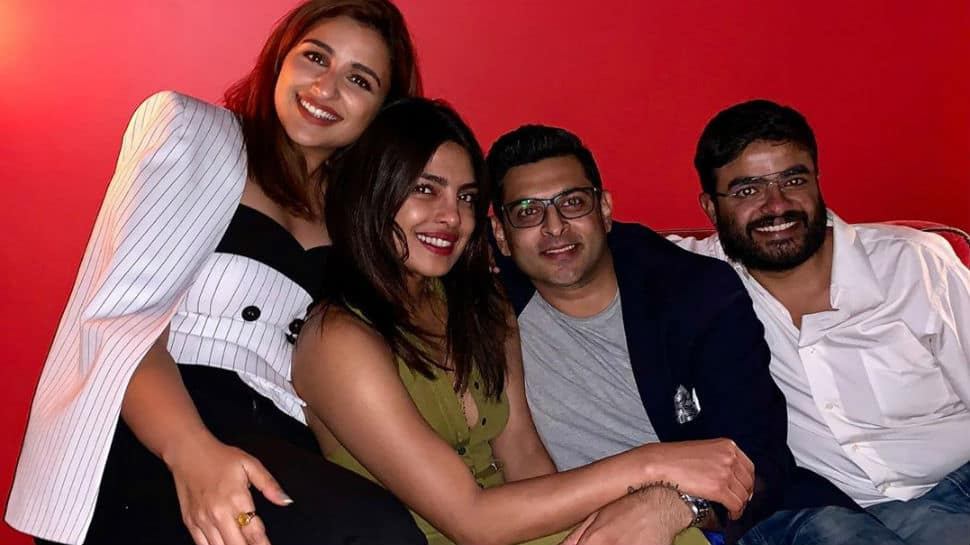 Priyanka Chopra and Parineeti welcomed the weekend by partying all night