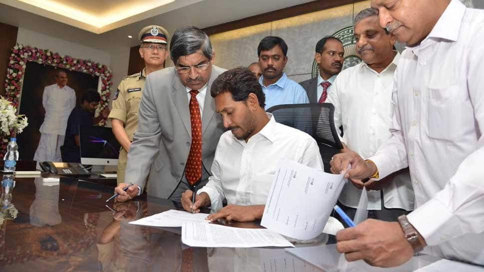 Andhra Pradesh CM Jagan Reddy assumes charge of his office, expands cabinet