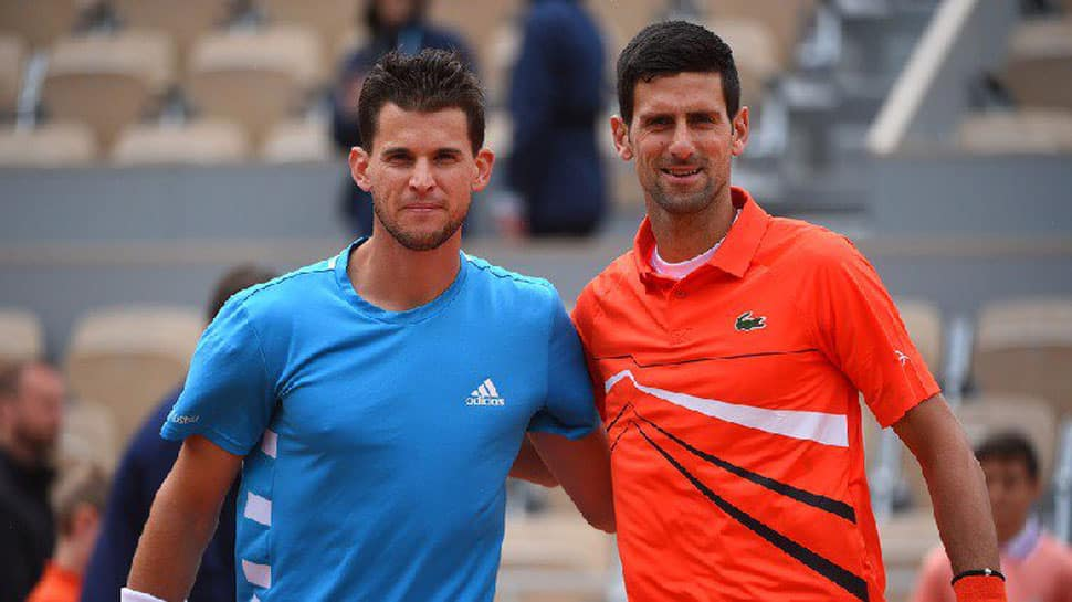 Dominic Thiem sees off Novak Djokovic to reach French Open final