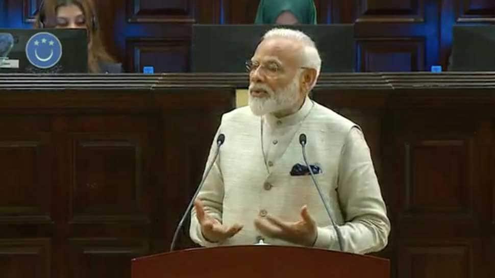 PM Narendra Modi addresses Maldives Parliament, says state-sponsored terrorism biggest threat
