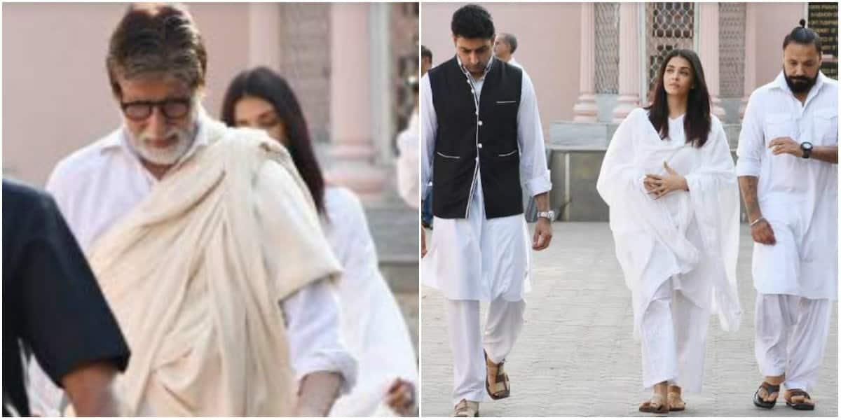 Amitabh Bachchan pens down emotional note after secretary Sheetal Jain's death, attends funeral with Abhishek and Aishwarya Rai