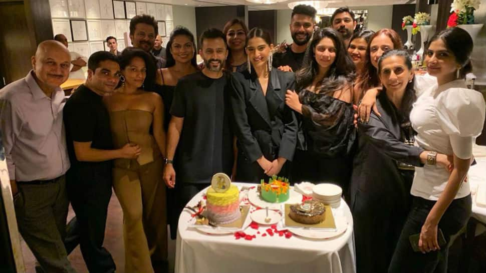Inside Sonam Kapoor's fab birthday party with Anand Ahuja, family and close friends