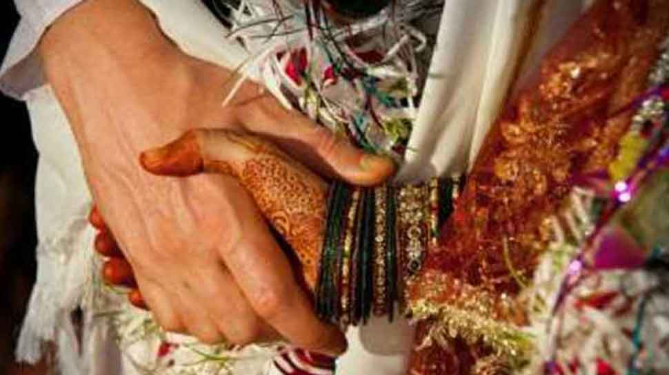 Maharashtra farmer sends chopper for bride's entry in wedding