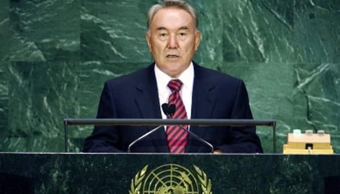 Nazarbayev ally set to win Kazakh presidential election