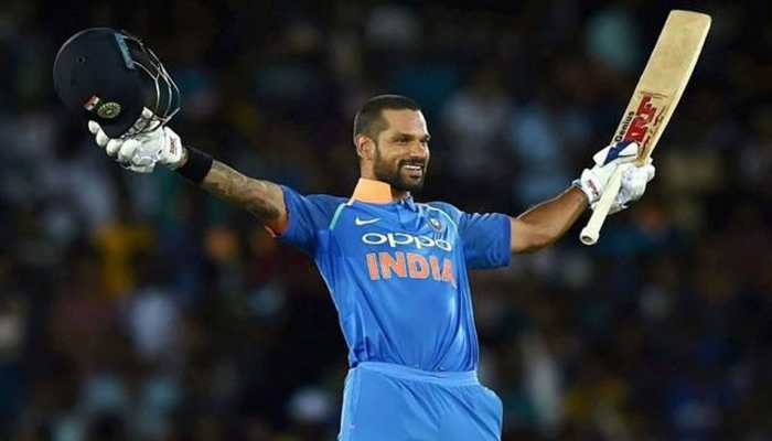 Shikhar Dhawan becomes third Indian to hit at least three World Cup tons