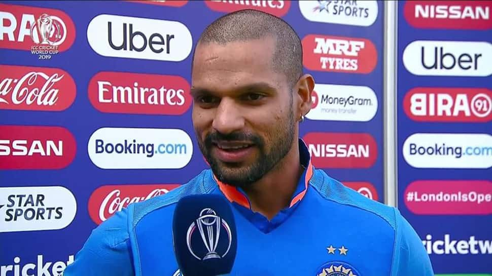 ICC World Cup 2019: Shikhar Dhawan set the foundation in concrete against Australia