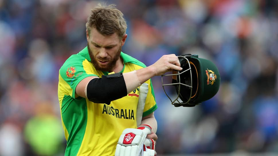 David Warner's unusually slow batting due to India's quality bowling: Aaron Finch