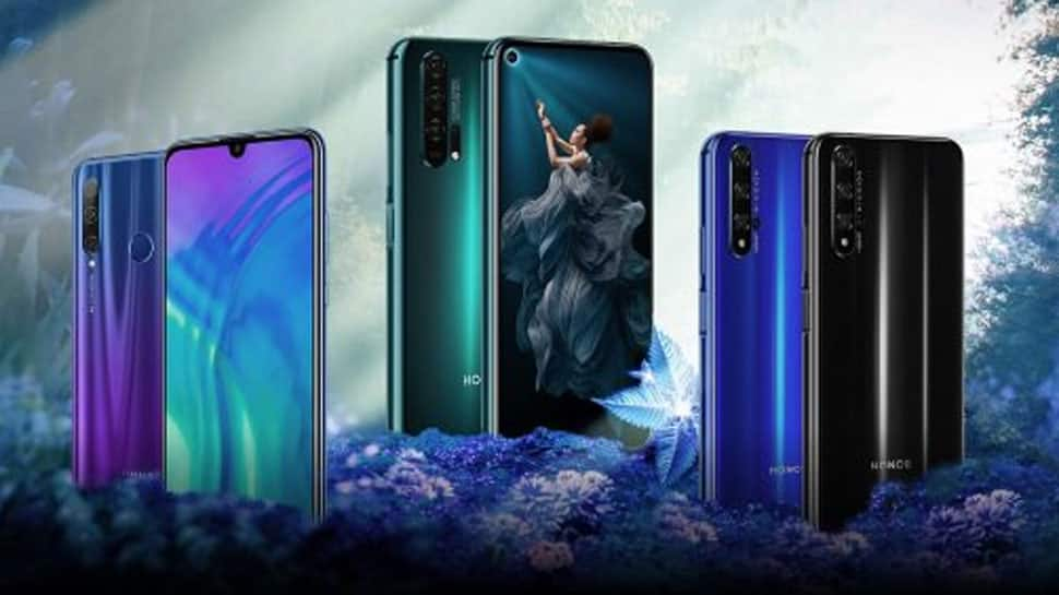 Honor 20 Pro, Honor 20 and Honor 20i launched in India