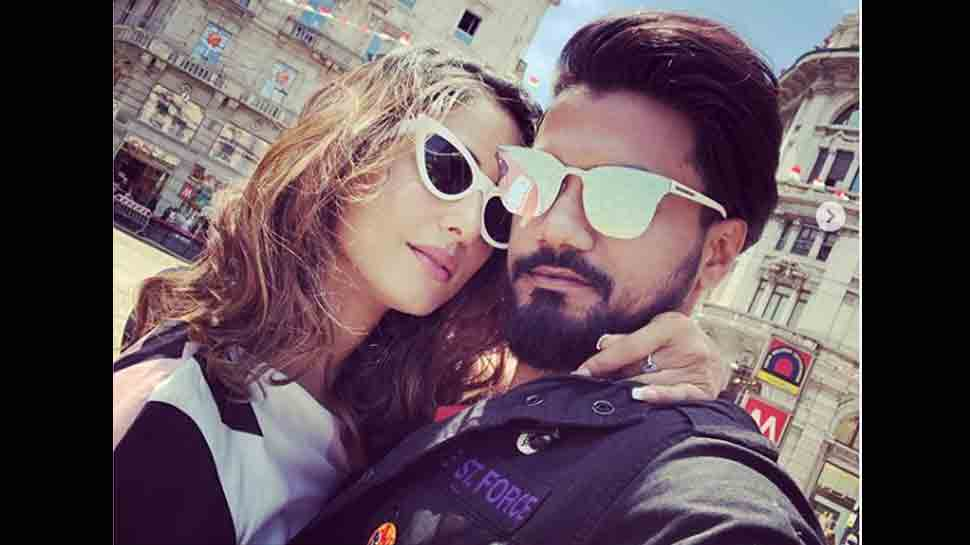 Hina Khan's beau Rocky shares loved-up pics from Milan trip — Check out