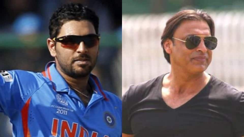 Recently-retired Yuvraj Singh reveals he was 'terrified' of facing Shoaib Akhtar
