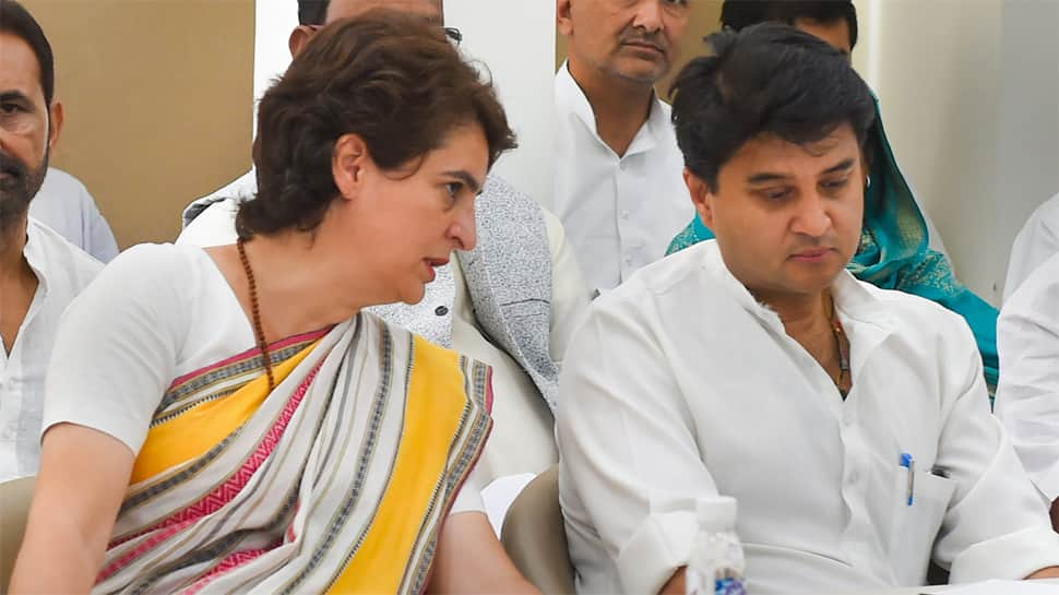 At meeting chaired by Jyotiraditya Scindia, UP Congressmen blame top party leaders for Lok Sabha poll debacle