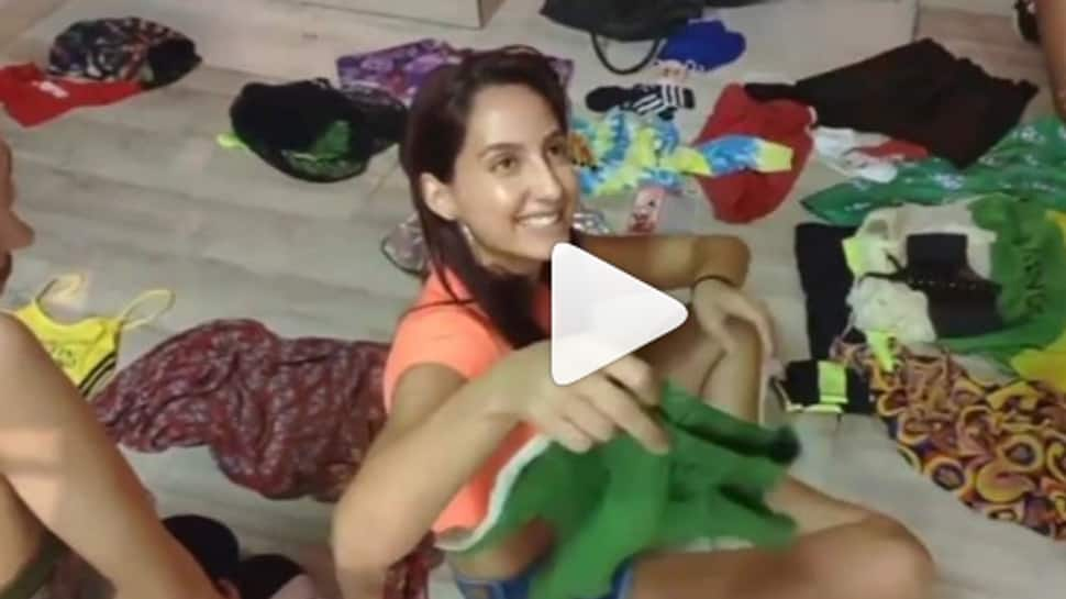 Nora Fatehi turns street vendor in this hilarious video—Watch