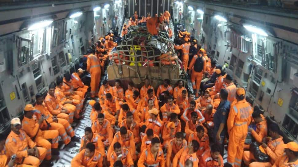 Cyclone Vayu: IAF flies C-17 sorties to Gujarat with rescue materials and NDRF teams