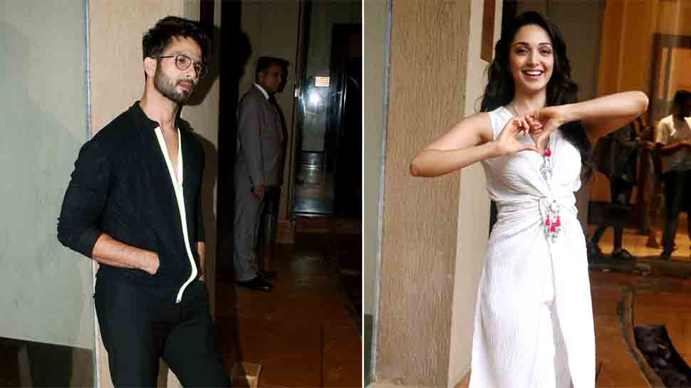 Shahid Kapoor, Kiara Advani glam it up for Kabir Singh promotions — Pics