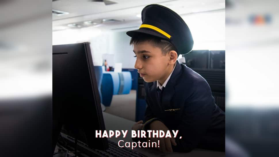 Happy birthday, Captain: Delhi Airport shares snippets of 10-year-old Abeer's special tour
