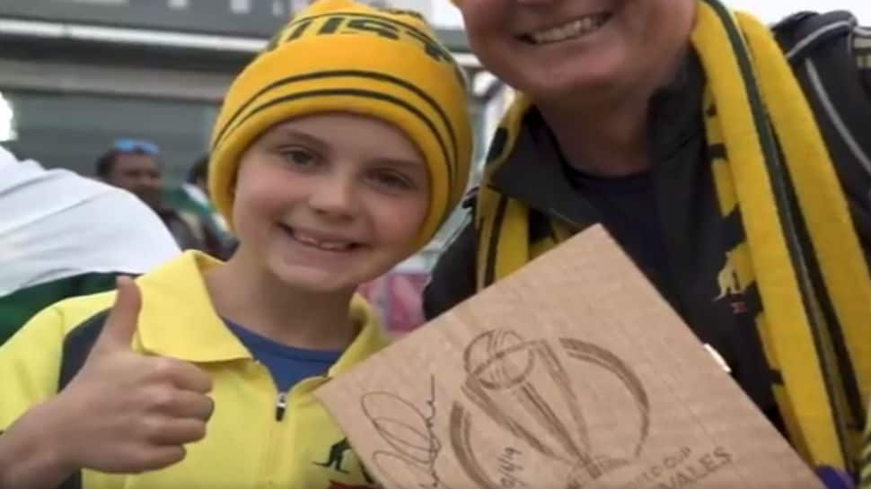 ICC World Cup 2019: David Warner gifts Player of Match award to young Aussie fan