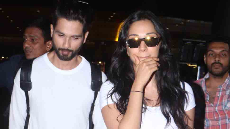 Shahid Kapoor snapped at Mumbai airport with Kabir Singh co-star Kiara Advani — Pics