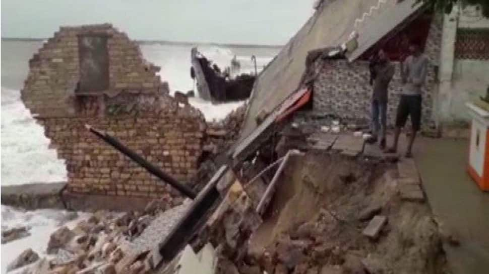 Cyclone Vayu: Portion of Porbandar's Bhuteshwar Mahadev temple collapses