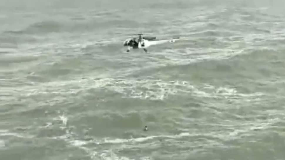 Watch: Indian Coast Guard rescues man from drowning on Goa beach