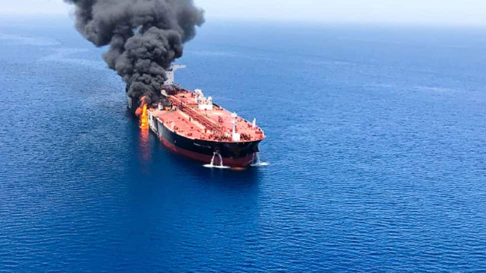 US blames Iran for tanker attacks in Gulf of Oman, Iran rejects assertion