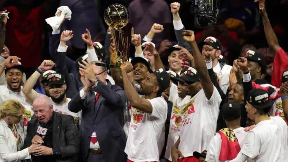 NBA: Dino-mite! Raptors win Canada''s first NBA championship