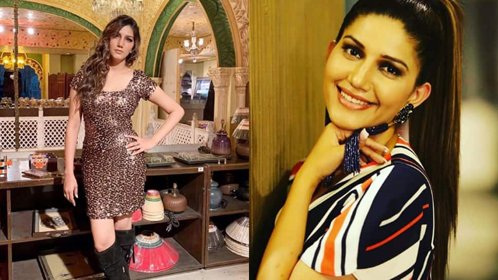 Sapna Choudhary ditches her desi look, sizzles in a sequin dress—Pics