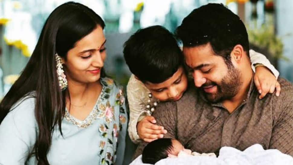 Jr NTR shares adorable pic of son Bhargav as he turns one - Check inside
