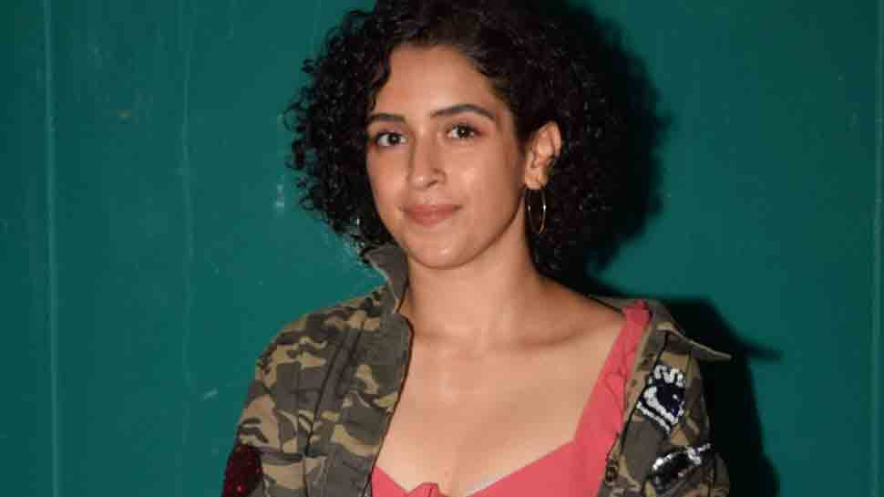 My job is to choose good scripts: Sanya Malhotra
