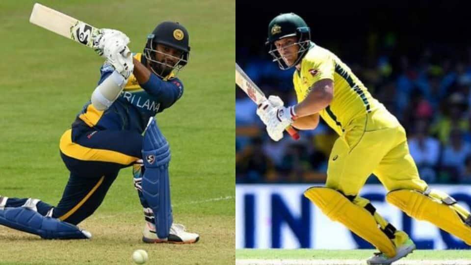 ICC World Cup 2019: Australia vs Sri Lanka--Statistical Highlights