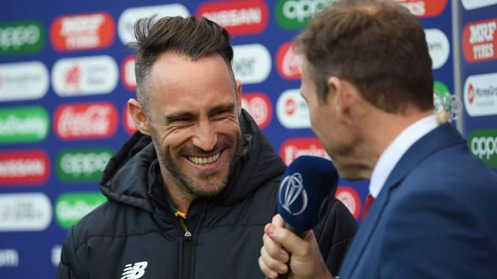 Du Plessis says a weight has been lifted after South Africa's first win at the ICC World Cup 2019