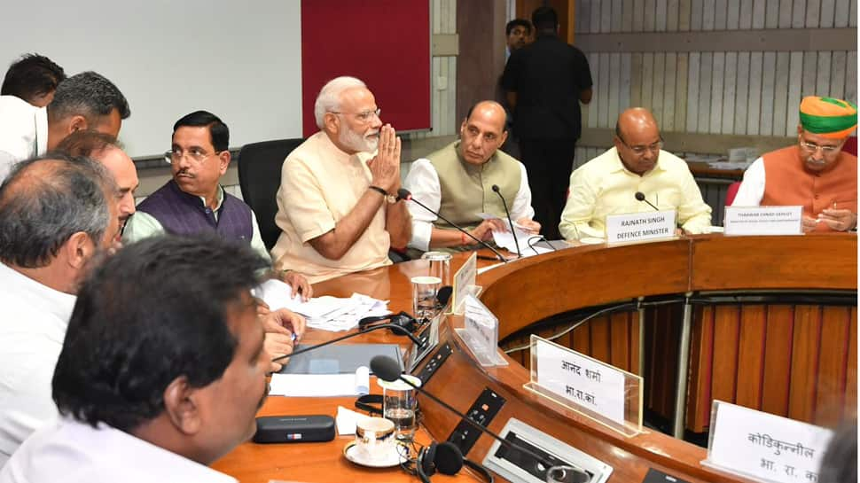 Modi government holds all-party meet ahead of Budget Session, Opposition seeks debate on unemployment, farm distress in Parliament