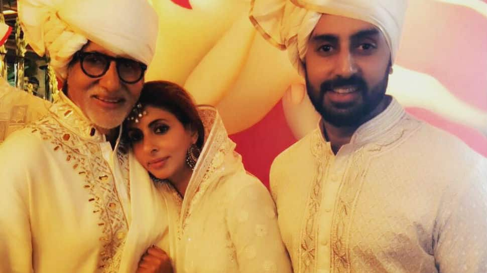 On Father's Day, Abhishek and Shweta have the sweetest thing to say to Amitabh Bachchan