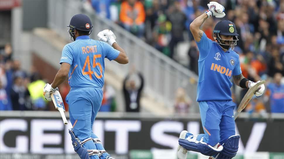 Rohit Sharma stars in India-Pakistan ICC World Cup match, Virat Kohli rules the fans' hearts