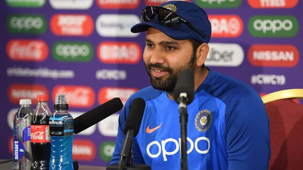 Centurion Rohit Sharma celebrates Father's Day in style