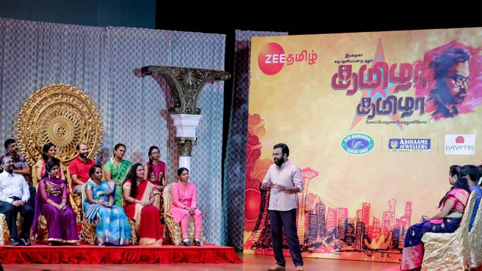 Zee Tamil's Thamizha Thamizha goes international in Singapore