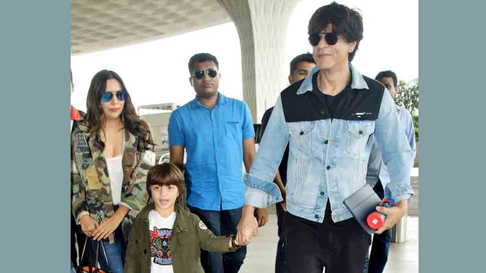 Shah Rukh Khan heads to London with wife Gauri, son AbRam. Will they attend World Cup 2019?