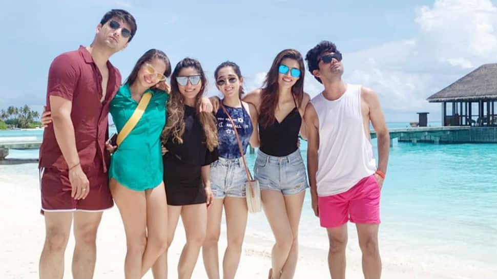 How Kriti Sanon is soaking in the Maldivian sun with her 'tribe' - Pics here