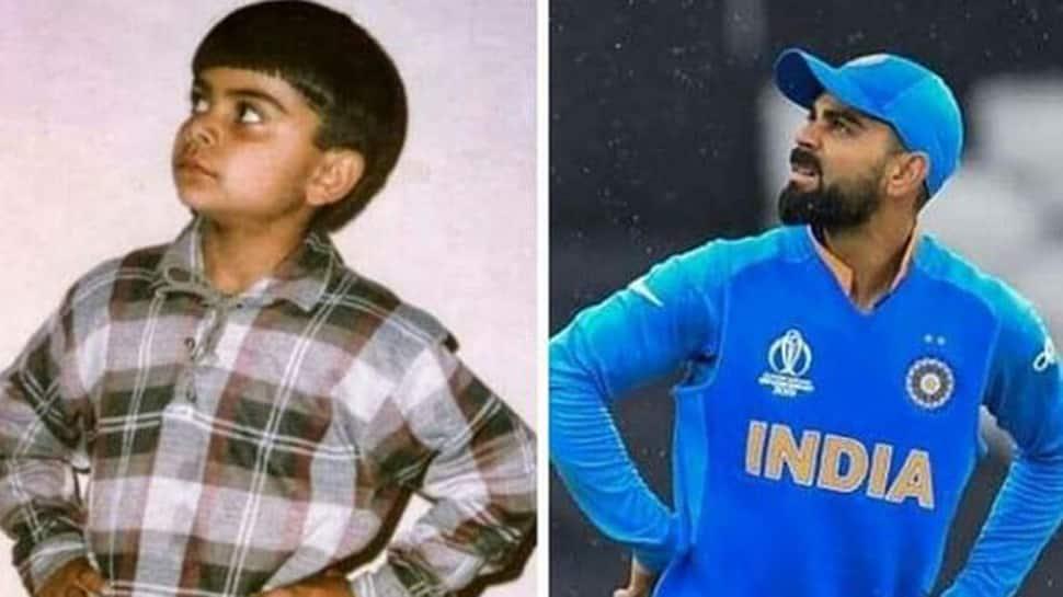 After an impressive win over Pakistan, Virat Kohli shares childhood picture